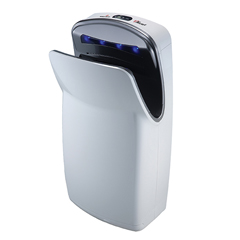 WDRV-674A - World Dryer - VMax™ High Speed Vertical HEPA Hand Dryer