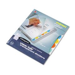 WLJ55063 - Wilson Jones® View-Tab® Transparent Index Dividers
