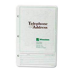 WLJ812R - Wilson Jones® Looseleaf Phone/Address Book Refill