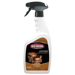 WMN107 - Leather Cleaner and Conditioner, Floral Scent, 22 oz Trigger Spray Bottle, 6/CT