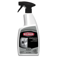 WMN108EA - Stainless Steel Cleaner and Polish, Floral Scent, 22 oz Trigger Spray Bottle
