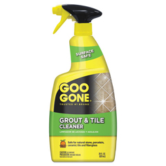 WMN2054AEA - Goo Gone Grout and Tile Cleaner, Citrus Scent, 28 oz Trigger Spray Bottle