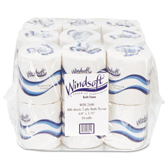 Bettymills windsoft embossed bath tissue windsoft win2440 Boardwalk 6145 bathroom tissue