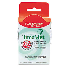 WTB304601TMEA - TimeMist® Continuous Fan Dispenser, Fragrance Cup Refills