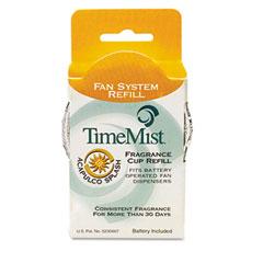 WTB304607TMEA - TimeMist® Continuous Fan Dispenser, Fragrance Cup Refills