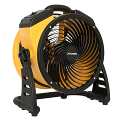 XPOFC-100 - XPOWER - 1100 CFM 4 Speed Portable Multipurpose 11 Pro Whole Room Air Circulator Utility Fan