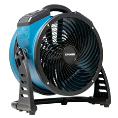 XPOFC-250AD - XPOWER - FC-250AD 1560 CFM Variable Speed Pro 13 Brushless DC Motor Air Circulator Utility Fan with Built-in Power Outlets