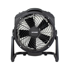 XPOM-27 - XPOWER - 1450 CFM Variable Speed Brushless DC Motor Axial Air Mover with Ozone Generator