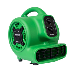 XPOP-230AT-Green - XPOWER1/5 HP 800 CFM Multi-Purpose Mini Mighty Air Mover