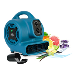XPOP-260NT - XPOWERFreshen Aire 1/5 HP 800 CFM 4 Speed Scented Mini Mighty Air Mover