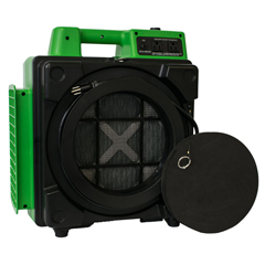 XPOX-2480A-Green - XPOWERCommercial 3 Stage Filtration HEPA Purifier System