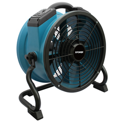 XPOX-34AR-Blue - XPOWER1/4 HP 1720 CFM Variable Speed Sealed Motor Industrial Axial Air Mover
