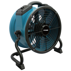 XPOX-34TR - XPOWER1/4 HP 1720 CFM Variable Speed Sealed Motor Industrial Axial Air Mover