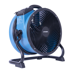 XPOX-39AR - XPOWER1/4 HP 2100 CFM Variable Speed Sealed Motor Industrial Axial Air Mover