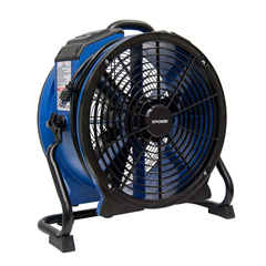 XPOX-48ATR - XPOWER1/3 HP 3600 CFM High Temperature Variable Speed Sealed Motor Industrial Axial Air Mover