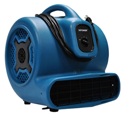XPOX-830 - XPOWER - 1 HP 3600 CFM 3 Speed Air Mover