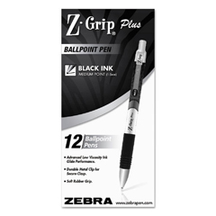 ZEB25510 - Zebra Z-Grip™ Plus Retractable Ballpoint Pen