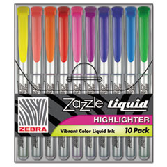 ZEB71111 - Zebra Zazzle® Brights Highlighters