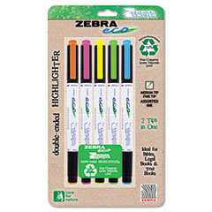 ZEB75005 - Zebra Eco® Zebrite Double-Ended Highlighters