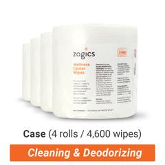 ZOGZ1000-4 - Zogics - Wellness Center Wipes