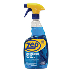 ZPEZU112032EA - Streak-Free Glass Cleaner, Pleasant Scent, 32 oz Spray Bottle