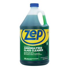 ZPEZU1052128EA - Ammonia-Free Glass Cleaner, Agradable Scent, 1 gal Bottle