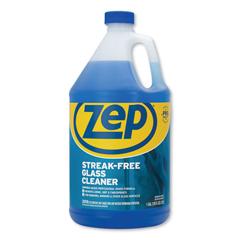 ZPEZU1120128EA - Streak-Free Glass Cleaner, Pleasant Scent, 1 gal Bottle