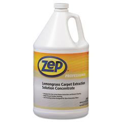 ZPP1041398EA - Carpet Extraction Cleaner, Lemongrass, 1gal Bottle