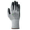 Ansell HyFlex® 11-435 Cut-Resistant Gloves, Size 9, Black; Heather Gray ANS 012-11-435-10