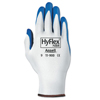 Ansell HyFlex® Nbr Gloves, 7, White/Blue ANS 012-11-900-7