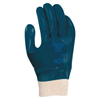 Ansell Hycron Nitrile Coated Gloves, Knit Wrist, Size 10, Blue ANS 012-27-602-10