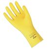 Ansell Fl 200 Gloves, 8, Natural Latex, Lemon Yellow ANS 012-297-8