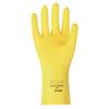Ansell Fl 200 Gloves, 9, Natural Latex, Lemon Yellow ANS 012-297-9