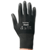 Ansell Sensilite Gloves, 8, Black/Yellow ANS 012-48-101-8