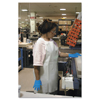 Ansell CPP Vinyl Aprons, 18 Mil, 35 In X 45 In, White ANS 012-56-101-35X45