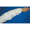 Ansell CPP Sleeves, 18 In Long, 8 Mil, Elastic Band Closure, One Size, Blue ANS 012-59-001-18B