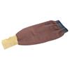 Ansell FR Kevlar Blend Welders Sleeves, 22 In Long, Elastic Closure, Brown/Yellow/Blue ANS 012-59-406-22IN