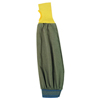 Protection Apparel: Ansell - FR Kevlar Blend Welder's Sleeves, 26 In Long, Elastic Closure, Brown/Yellow/Blue
