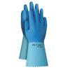 Ansell Hy-Care&Reg; Gloves, 10, Natural Latex, Blue ANS 012-62-400-10