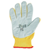 Safety-zone-leather-gloves: Ansell - The Bull Kevlar® Gloves