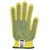 Ansell Goldknit Mediumweight Gloves, Size 8, Yellow ANS 012-70-330-8