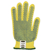 Ansell Goldknit Mediumweight Gloves, Size 9, Yellow ANS 012-70-330-9