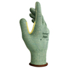 Ansell Vantage Heavy Cut Protection Gloves, Size 10, Mint, Leather ANS 012-70-765-10