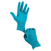 Ansell Touch N Tuff Nitrile Gloves, Powdered, 4 Mil, 9.5 - 10, Green ANS 012-92-500-9.5-10