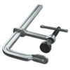 Bessey Classix Heavy Duty Pad Clamps, 9 In, 5 1/2 In Throat, 2,660 Lb Load Cap ORS 013-GSM25