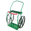 Anthony High-Rail Frame Dual-Cylinder Carts, For 9.5-13.5 Cylinders, 24 Steel Wheels ORS 021-24-24
