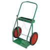 Anthony Low-Rail Frame Dual-Cylinder Carts, For 8-8.5 Dia., 14 Solid Rubber/Steel Rim ORS 021-4-14