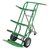 Anthony Retractable Dual-Cylinder Delivery Carts, 10 In Solid Rubber/Plastic Rim Wheels ORS 021-55-3B-FRA