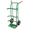Anthony Dual-Cylinder Delivery Carts, Holds 9-10 Dia. Cylinders, 10 Pneumatic Wheels ORS 021-55PN3B