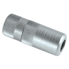 Alemite Hydraulic Coupler W/Rubber Seal & Built-In Check Valve, 1/8 In, F/F, Blister Pk ALM 025-B308730